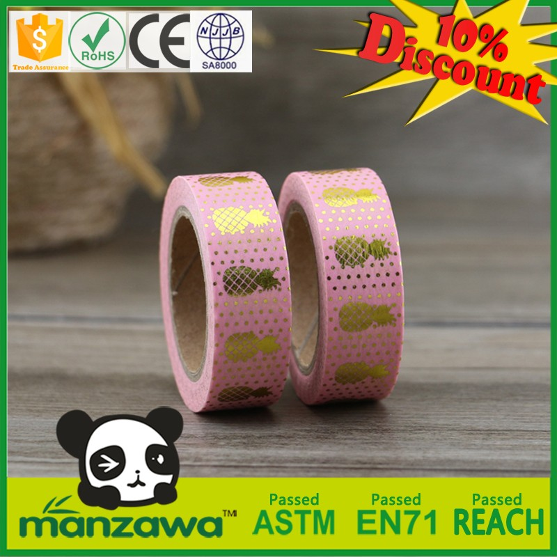China supplier stocklot washi tape merry christmas amsterdam washi tape cochineal washi tape