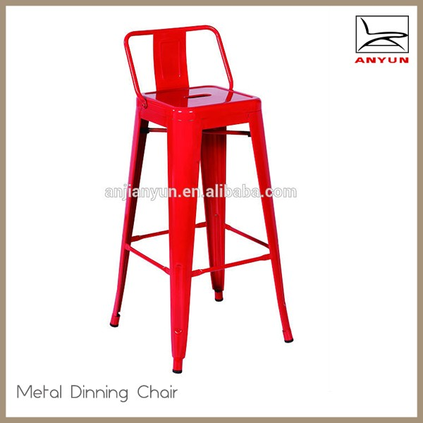 Wholesale bar furniture industrial iron bar stool for heavy people