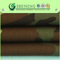 2014 New Design Customized Camouflage Printed Fabric For Military Army Uniform