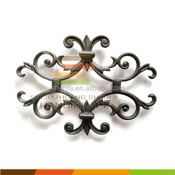 wrought iron fence parts cast iron decorative elements