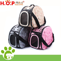 High Quality Pet Dogs and Cats Travel Bag Soft EVA Portable Foldable Breathable Outdoor Carrier Pet Bag