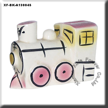 ceramic train coin bank for kids souvenirs