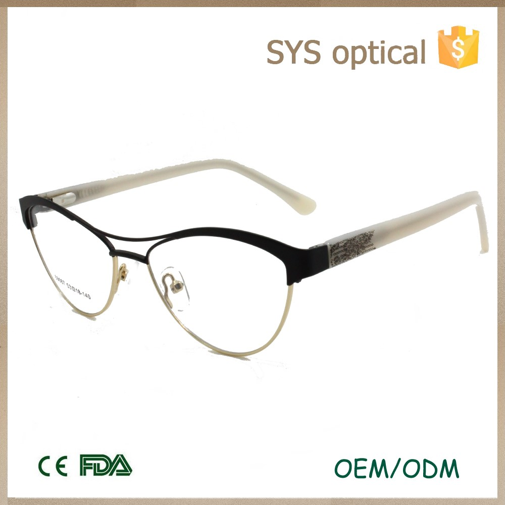 Ladies New Design Fashion Cateye Glasses Top Spectacles ...