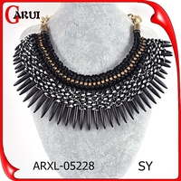 handmade chain statement artificial chunky collar necklaces