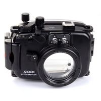 40M Waterproof Housing for Fuji X100S Camera 23mm Lens Underwater Case