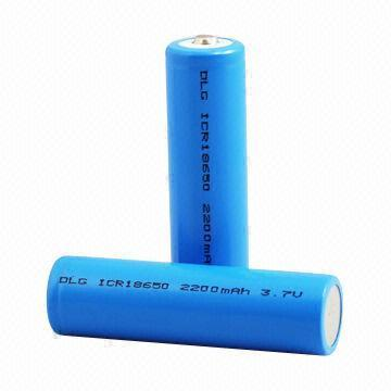 18650 li ion battery rechargeable 2200mah
