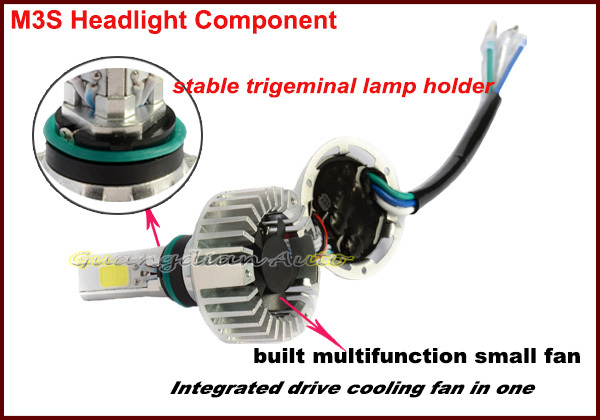 Lightpoint 2015 hot selling 32w/3000lm M3S led headlight H6 motorcycle head light car lights led