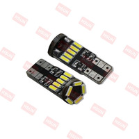 New high quality led canbus w5w 15 LED SMD 4014 B 501 Canbus LED t10 lamp 194 led canbus bulbs