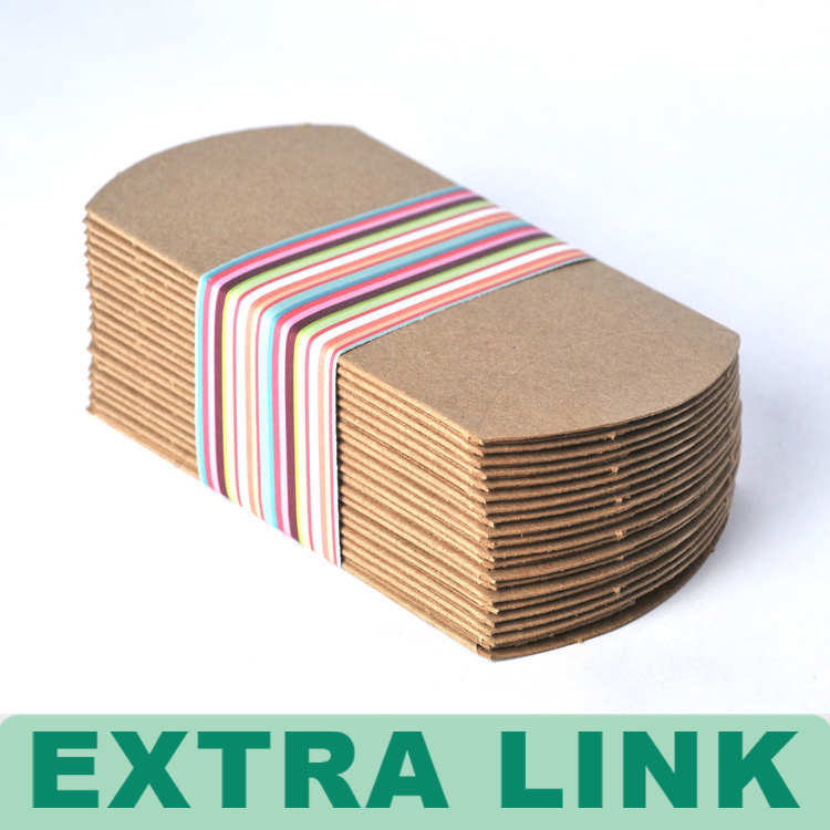 New Design Handmade Recycle Customized cardboard packaging sleeve