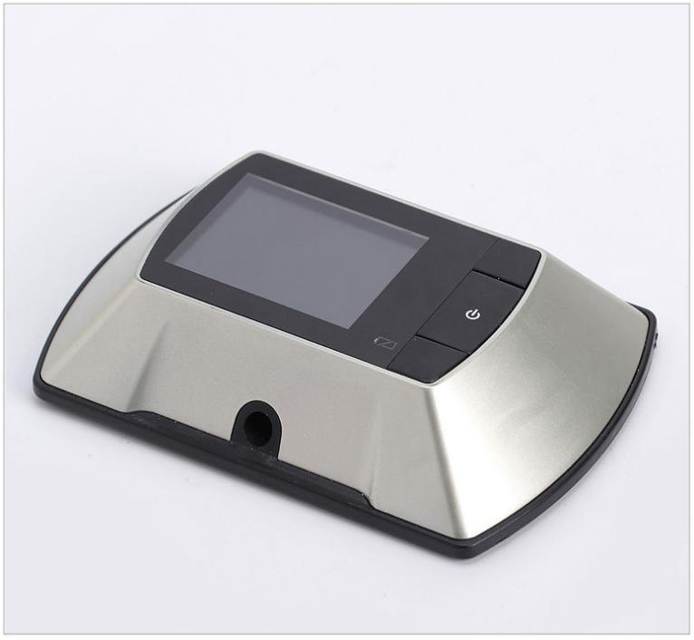 Puerta digital mirilla visor de la c mara espectador del - Mirilla puerta digital ...