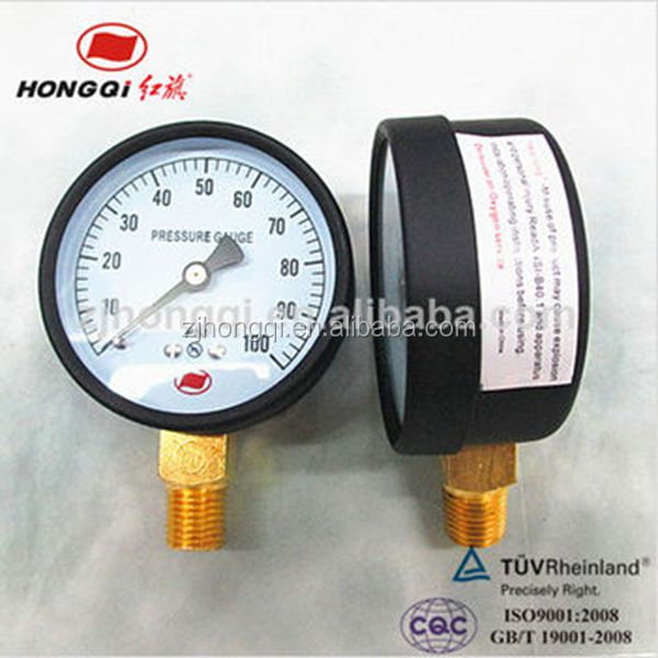 Natural gas LPG pressure gauge with promotional best price