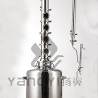 Stainless Steel Flute Distillation Tower Home