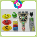 Silicone rubber tiny lcd membrane switch keypad