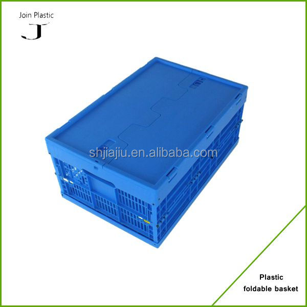 Hot Supply Plastic Storage Moving Folding Box