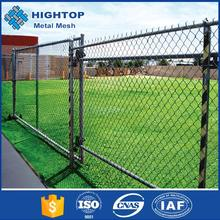 China Supplier Removable Rubber Coated Chain Link Border Fence