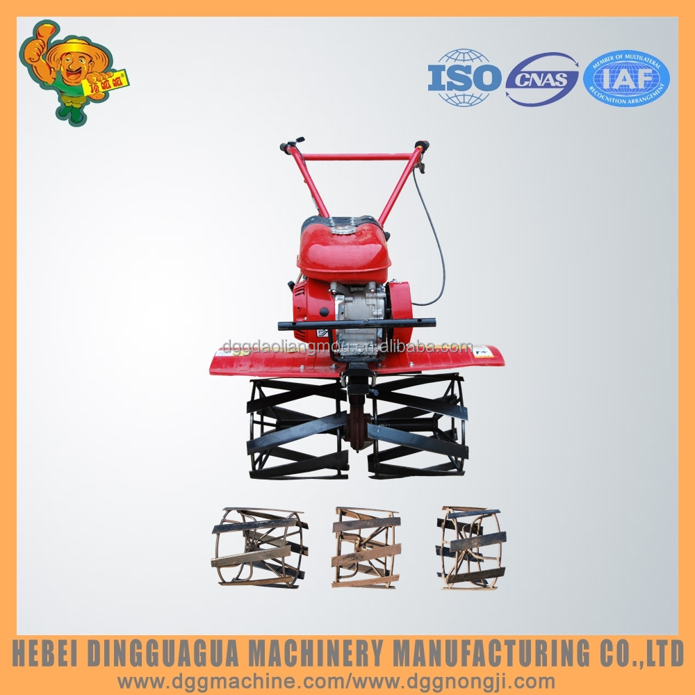 Gasoline Power Type and New Condition tiller with paddy weeder