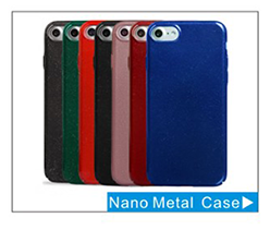 New arrival Nano Metal Mobile Phone Case, Ultra-Slim Anti-Scratch for iPhone 7 cases