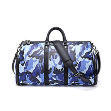 Oversized PVC Superfine Fiber Travel Tote Duffel Bag Weekender Overnight Bag