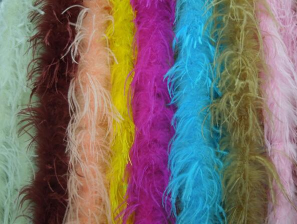 ostrich feather boa for shoes OSTRICH FEATHER BOA chinese feather fan