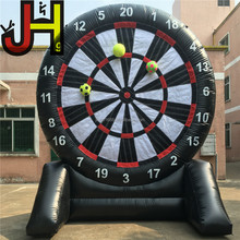 Hot Sale Inflatable Soccer Foot Dart Board With 6 Balls