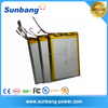 Sunbang battery pack high capacity lipo battery cell 3.7v 10000mah for power bank