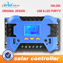 10A 12/24V USB Solar Panel Battery Regulator Charge Intelligent Controller