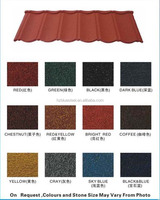 Colorful Environment Friendly Classical Stone Coated Metal Steel Roof Tile