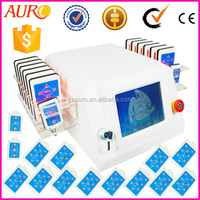 Au-64 Cold liposuction laser machine 650nm / professional ilipo laser slimming machine