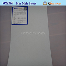 Double sided adhesive sheets hot melt glue sheets