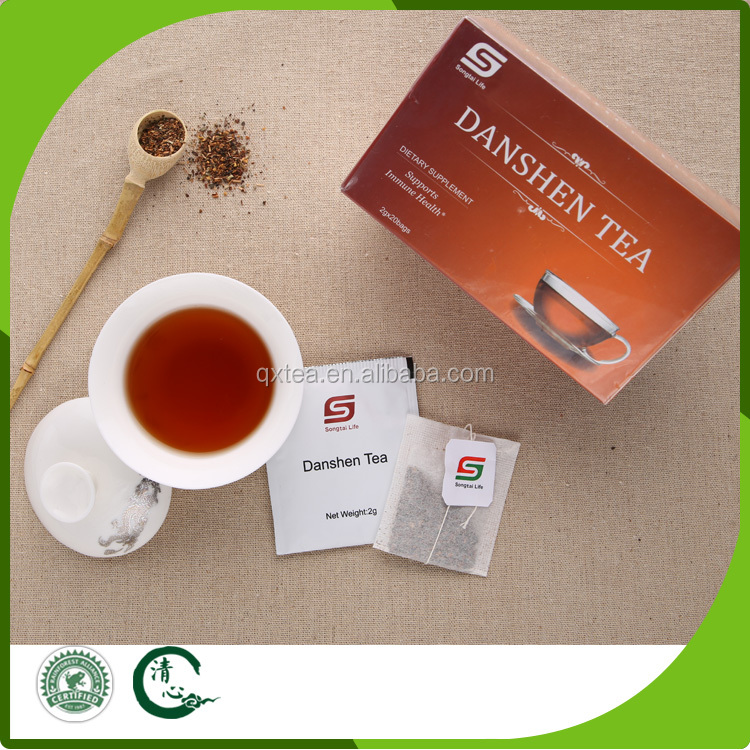 chinese tea salvia miltiorrhiza health tea bag