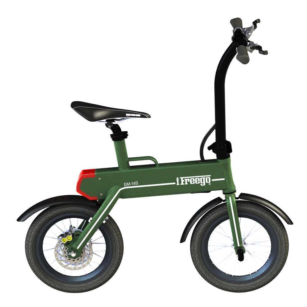 2017 Newest 14inch Mini Folding Electric Bike With 250W Motor For Hot Sale