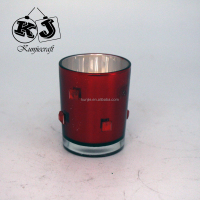 New designed funny glass tube candle holder