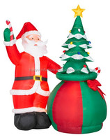 santa claus inflatable cartoon 2m for Christmas