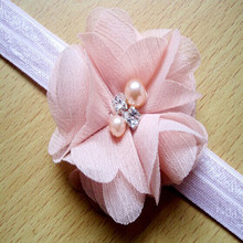 Chiffon flower headband for baby,Yiwu good accessories hair accessories