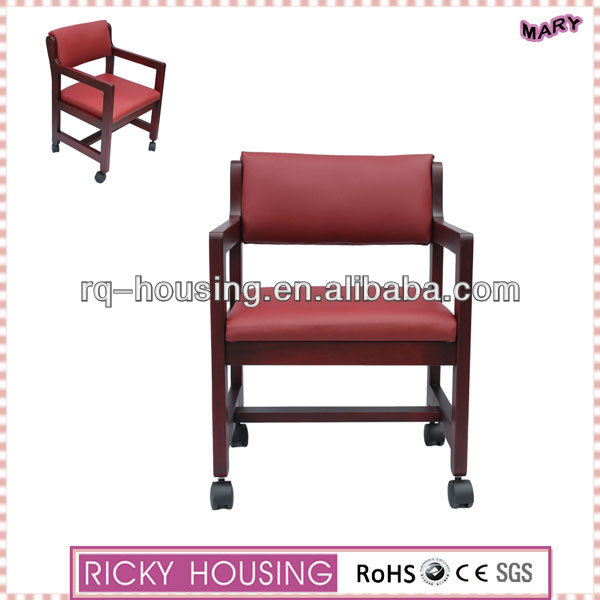 Kitchen chairs wheels/kitchen chairs with wheels/specification of wheel chair RQ20242