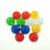 Coloured Diameter 42mm Plastic Practice Golf Range Ball