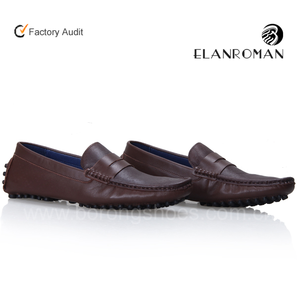 New Style Loafer Shoes Men Driving Shoes Genuine Leather Shoes Wholesale - Buy New Style Loafer ...