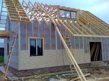 Wood frame house buy frame house product on - Light frame house plans ...