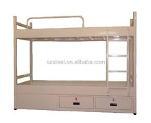 marine steel bunk bed with drawers, marine supplies, offshore cabin