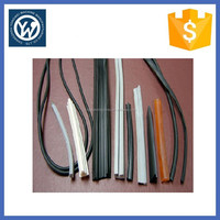 Car window rubber seal strip