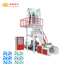 2017 TL Factory direct sale high speed LDPE/ HD plastic bag printing and making machine, film blown machine