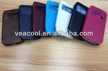Screen Window Leather case Skin for Samsung Galaxy s4 mini i9190