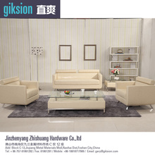 (ZS852#) Modern PVC leather sofa furniture living room