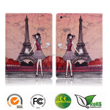 factory price OEM/ODM printing leather case for iPad Air