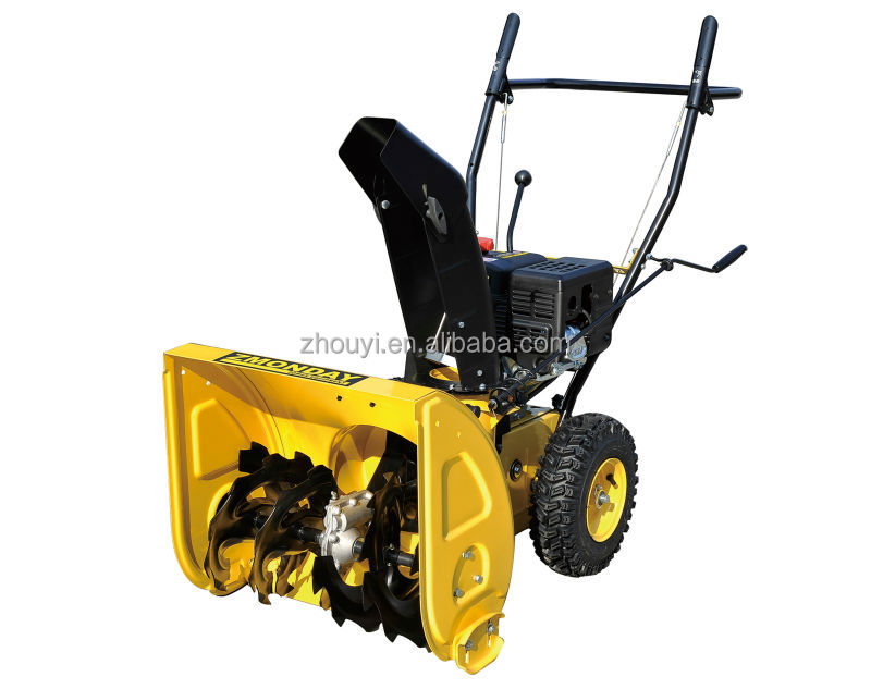 5.5hp loncin Gas Snow thrower with manual start