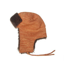 winter fashion colorful trapper hat