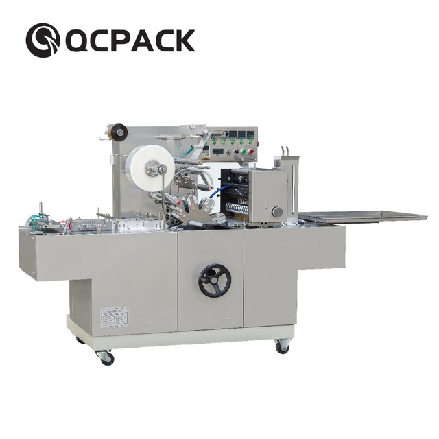 Chocolate bar Wrapping Machine For Double Boxes Side By Side