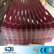 New products galvanized corrugated steel sheet / steel roofing types of iron sheets export to Thailand