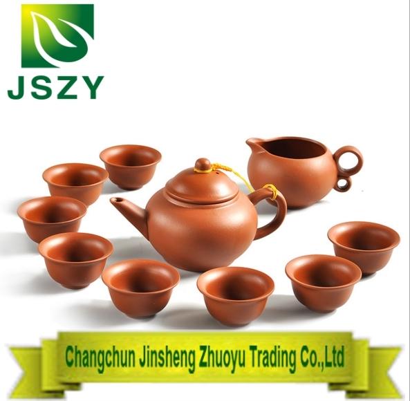 Gift packing China Yixing purple clay Tea set,one Zisha Teapot Eight purple tea cups