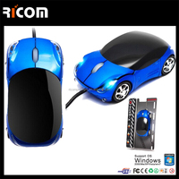 Ferrari Car Shape Mouse Car Shape